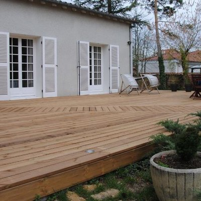 KIT TERRASSE SUR PLOT